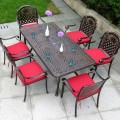 7 Pieces Dining Set: 1 * Dining Table, 6 * Chair (ZL-911)