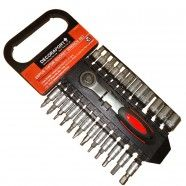 25pcs Socket Wrench Set, 1/4 Inch (TK-054)
