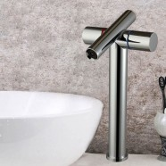 Basin&Sink Faucet - Brass with Chrome Finish (6017)