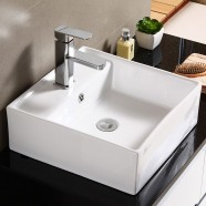 Decoraport Square Ceramic Above Counter Basin (CL-1079)