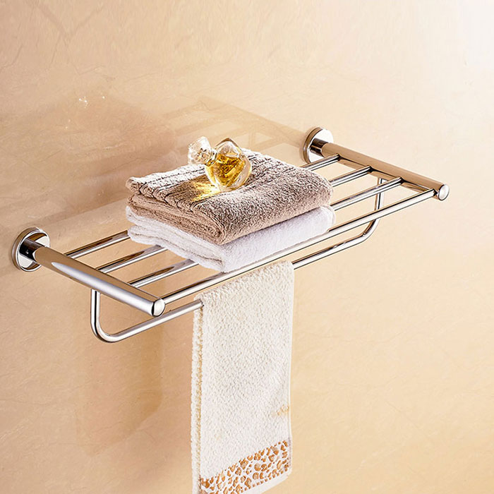 25 Inch Chrome Brass Towel Bar 2816 Decoraport Usa