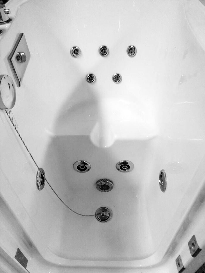 40 x 28 In Walk-in Whirlpool Soaking Bathtub - Acrylic White with ...