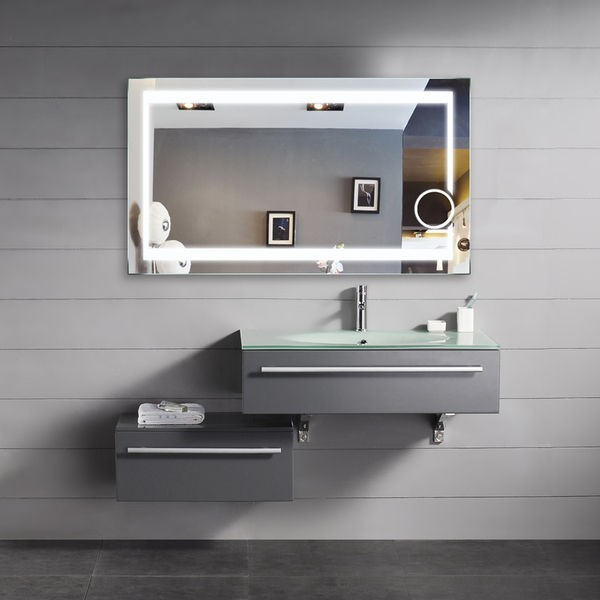 Home Decor And Bathroom Furniture Blog Led Backlit Mirrors The Ultimate Bathroom Essential