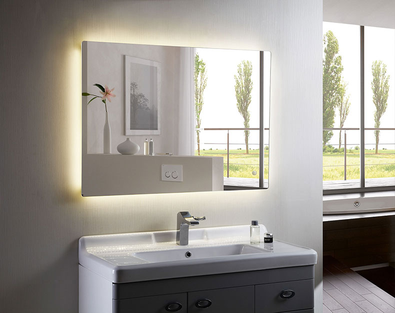 home decor and bathroom furniture blog 10 benefits of choosing led lighted mirrors decoraport usa