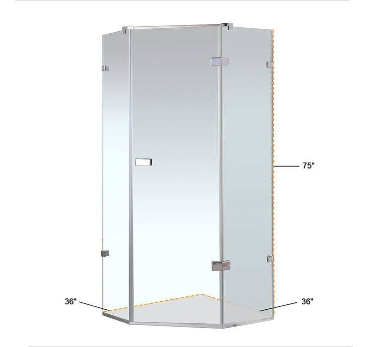 Coner Shower Stall